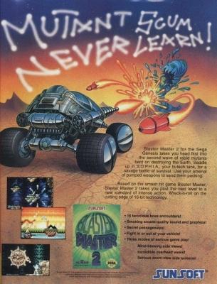Blaster Master 2 ad