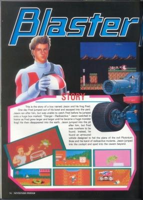 Blaster Master preview